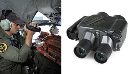 Binoculars used in Search for Malaysian Flight 370