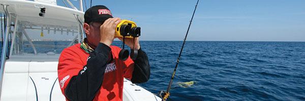 Marine Navigation Using Binoculars
